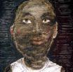 Black Face in White T
